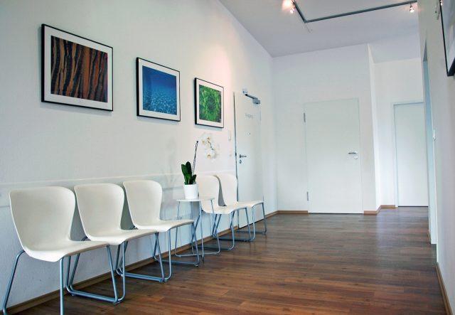 Foto Wartebereich der Praxis für Logopädie Bannert in Raubling